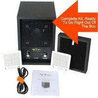 zen living air purifier carbon kit