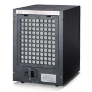 6 stage digital air purifier remote back black