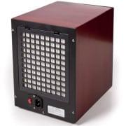 6 stage digital air purifier remote wood grain back